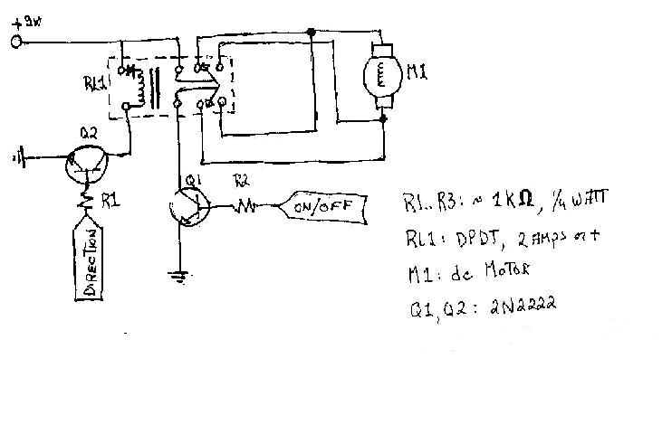 PC based Robot Circuit - schematic