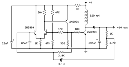 2w switching power supply - schematic