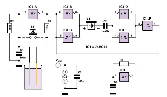 gt  circuits  gt  water alarm schematic l47445 next gr