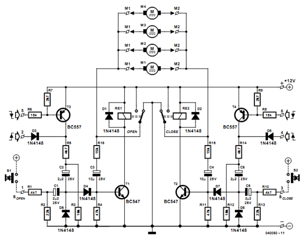 door lock circuit page 3   security circuits    next gr