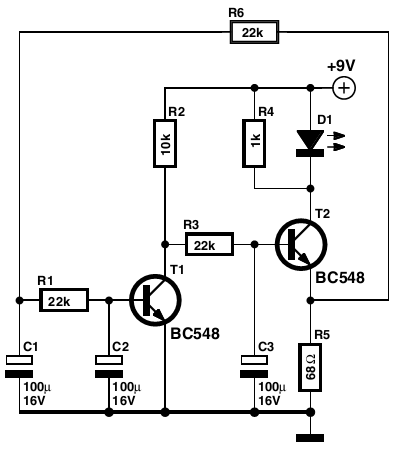 results page 43 about dark activated led searching circuits at rh next gr Signal Flasher Circuit Board Transistor LED Flasher Circuit