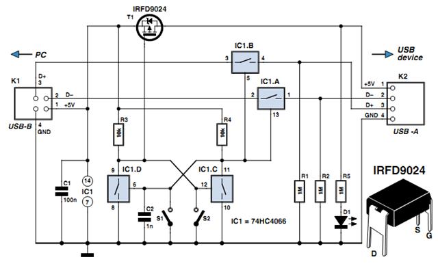 circuits \u003e usb switch schematic circuit l47485 next gr