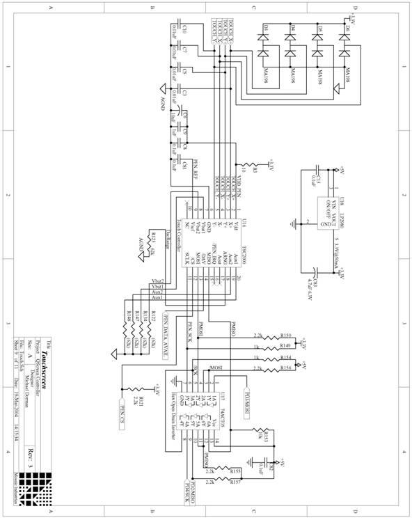 microcontroller circuit schematics - schematic