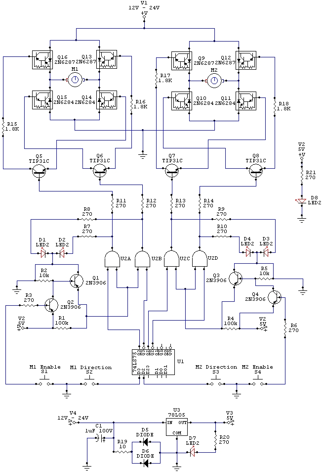 hbridge circuits \u003e electronic robot wiring schematic l48026 next gr fanuc robot wiring diagram at highcare.asia