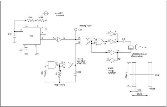 circuits u003e ultrasonic sensors apply to parking sensor system l48165 rh next gr Fiber Optic Schematic Fiber Optic Schematic