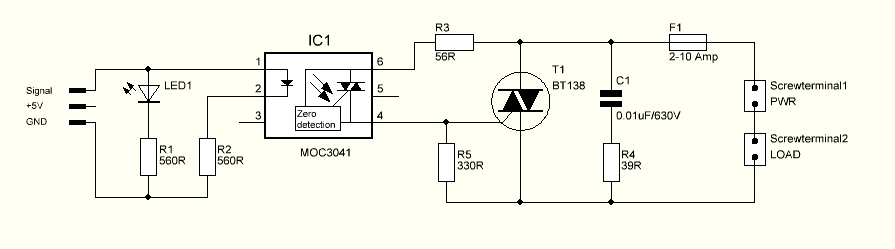 Ac Board Schematic on Scr Flip Flop Circuits