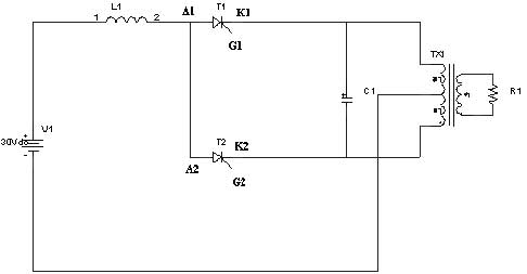 parallel inverter - schematic