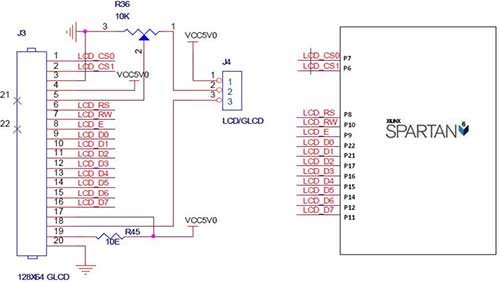 results page 4 about lcd 16x2 searching circuits at next gr interfacing 2x16 lcd spartan 6 fpga