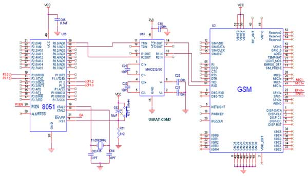 results page , about 'rf based automatic meter reading, circuit diagram