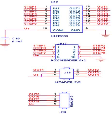 spi eeprom interfacing with avr primer - schematic