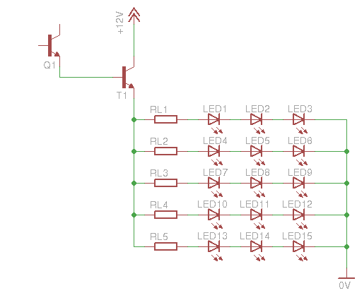 LED Fade-In Fade-Out Dimmer - schematic