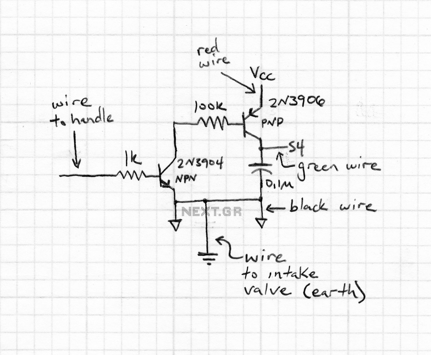 Using DTT to create your own TV transmitter - schematic