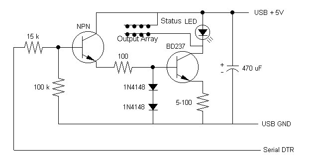 remote control - schematic