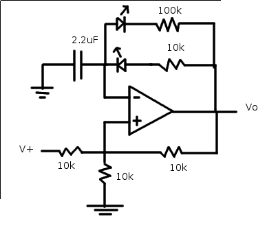 pulse generator circuit - schematic