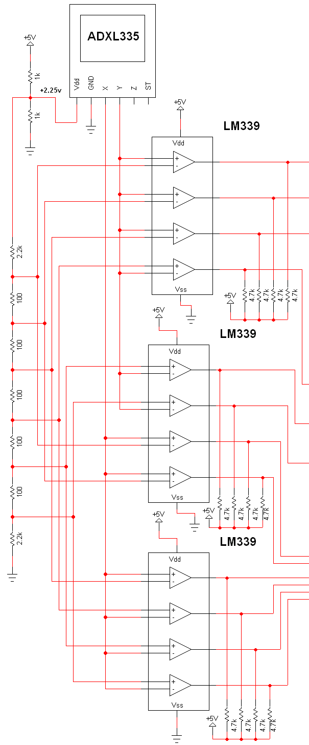 Sensor Circuit Page 11 Sensors Detectors Circuits Accelerometer Schematic Diagram Tilt Via