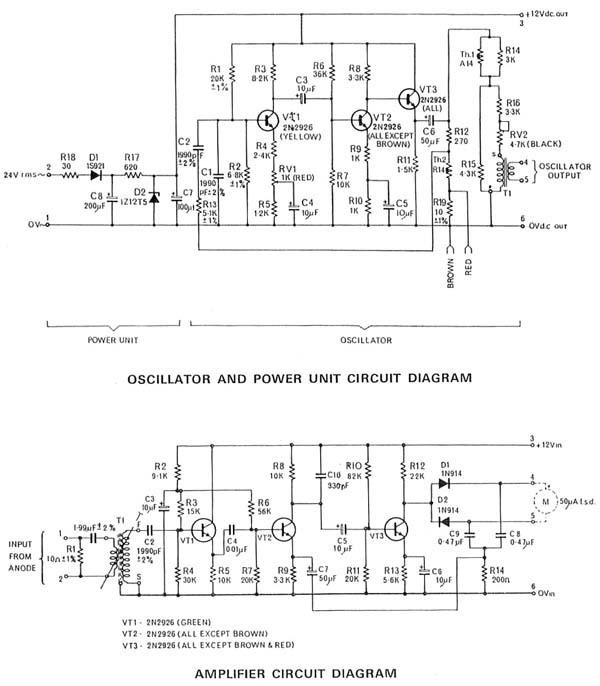VCM 163 Valve Characteristic Meter Equipment - schematic