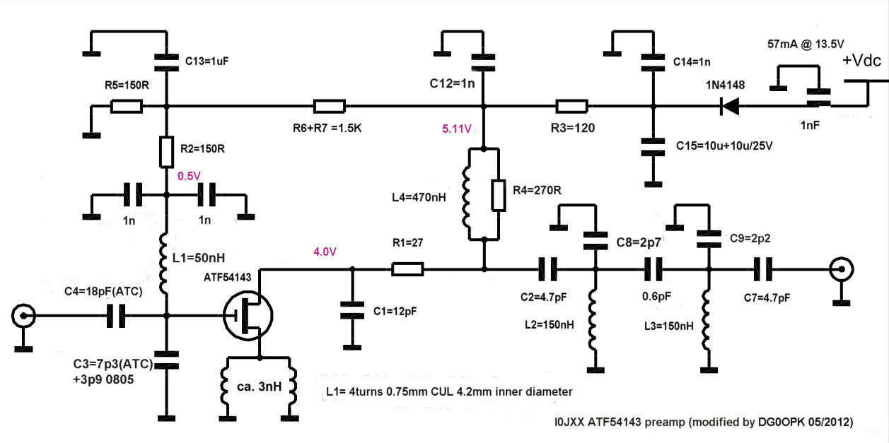 PREAMP 2012 - schematic