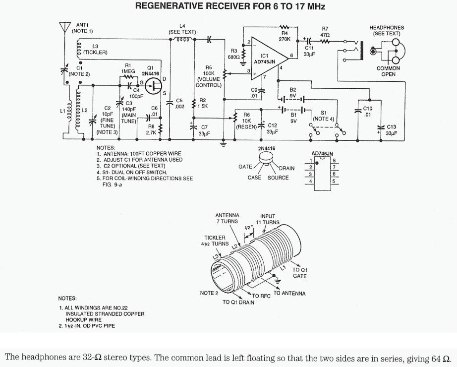 results page 58 about vacuum tube radio searching circuits at Simple FM Receiver Schematic regenerative shortwave radio