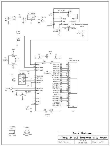 AVR Projects - schematic