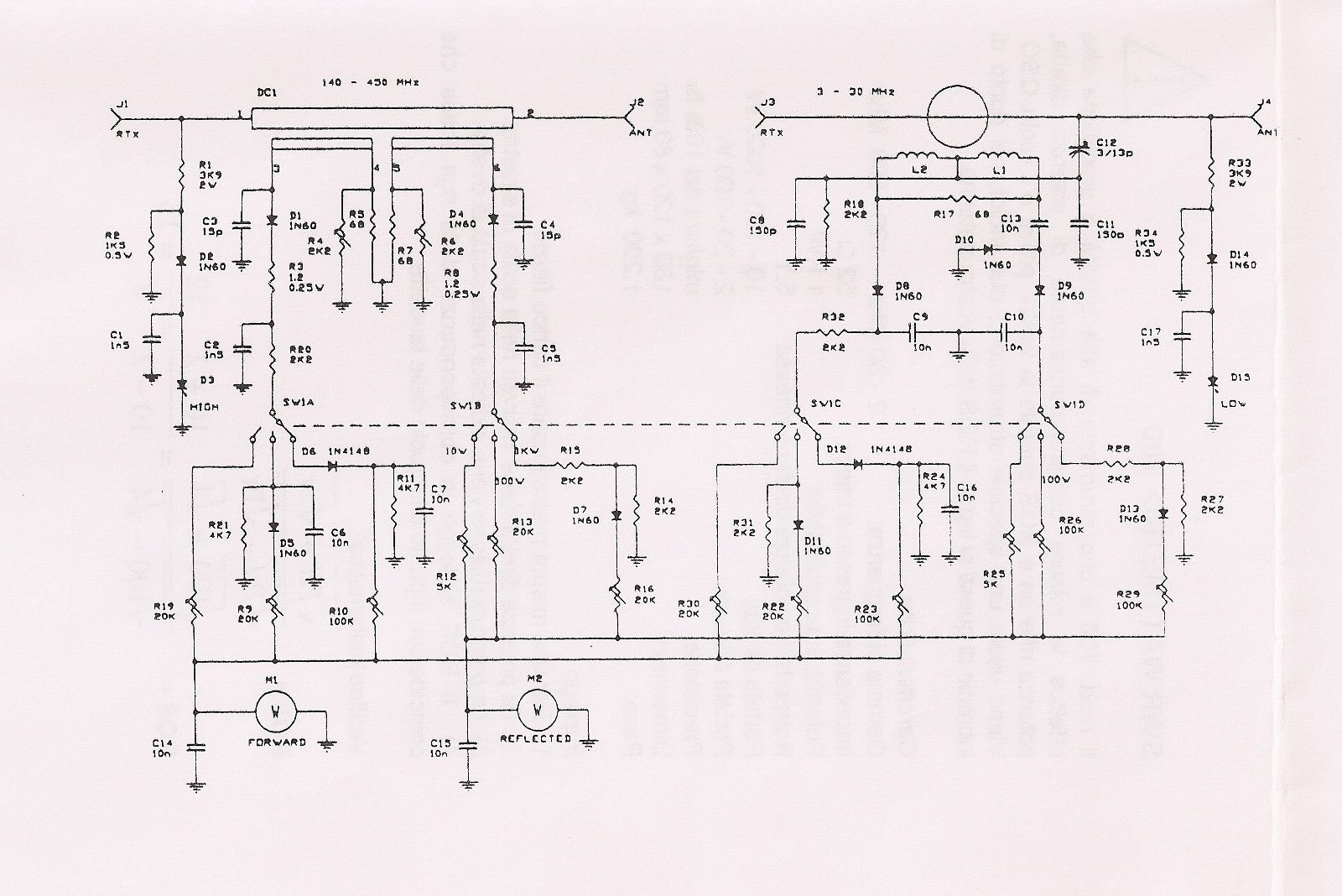 Top Circuits Page 172 Opamposcillator Oscillatorcircuit Signalprocessing Circuit Swr Power Meter