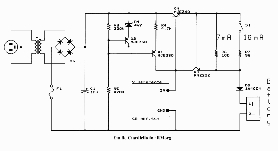 exide battery charger wiring diagram
