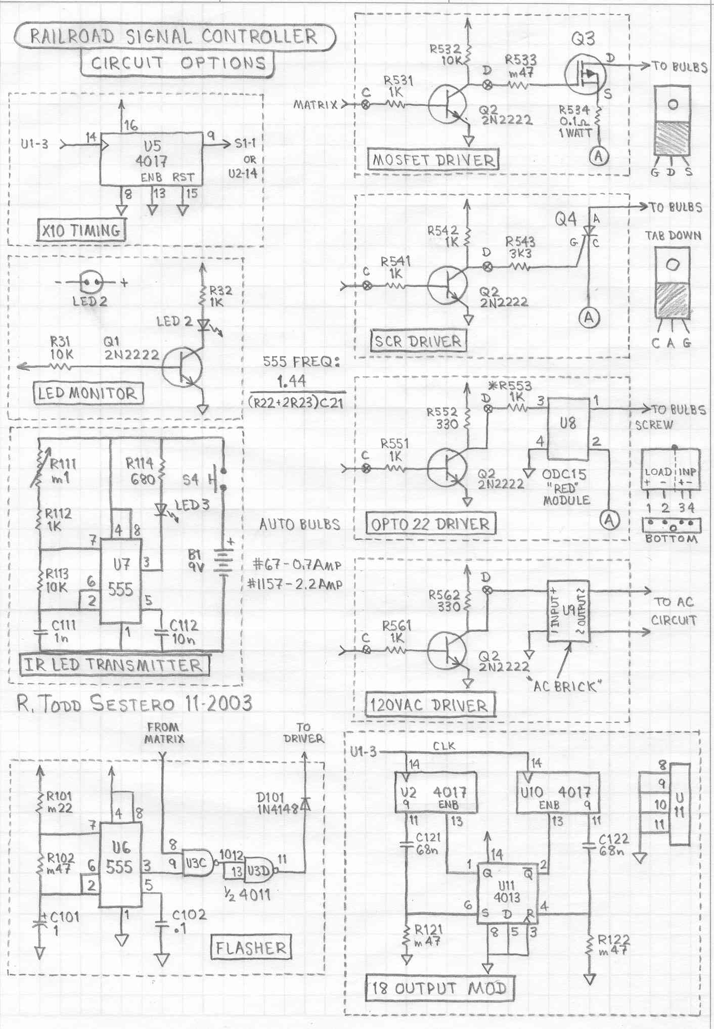 New Circuits Page 62 Pulse Generator Astable Multivibrator Circuit Diagram Tradeofic Railroad Signal Driver