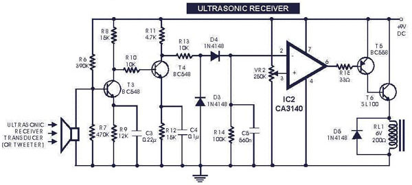 Circuit Diagram Shows An Ac Voltage Source Piezo Element Connected