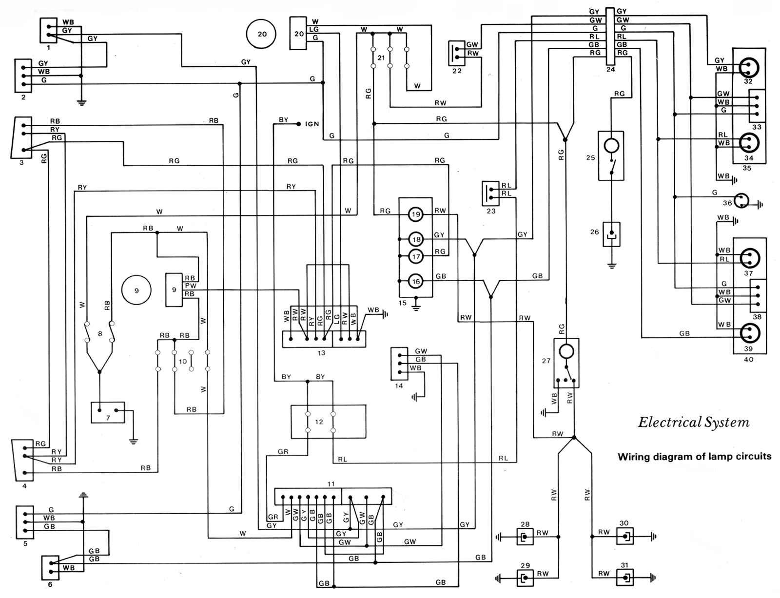 KE70_Wiring_Diagram_-_Lamp_Circuit_Schematic  Wire Ke Light Diagram on 3 light switch, 3 wiring diagram, 3 way light diagram,
