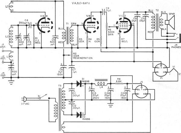 One Receiver - schematic