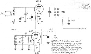 Mixer Converter Circuits - schematic