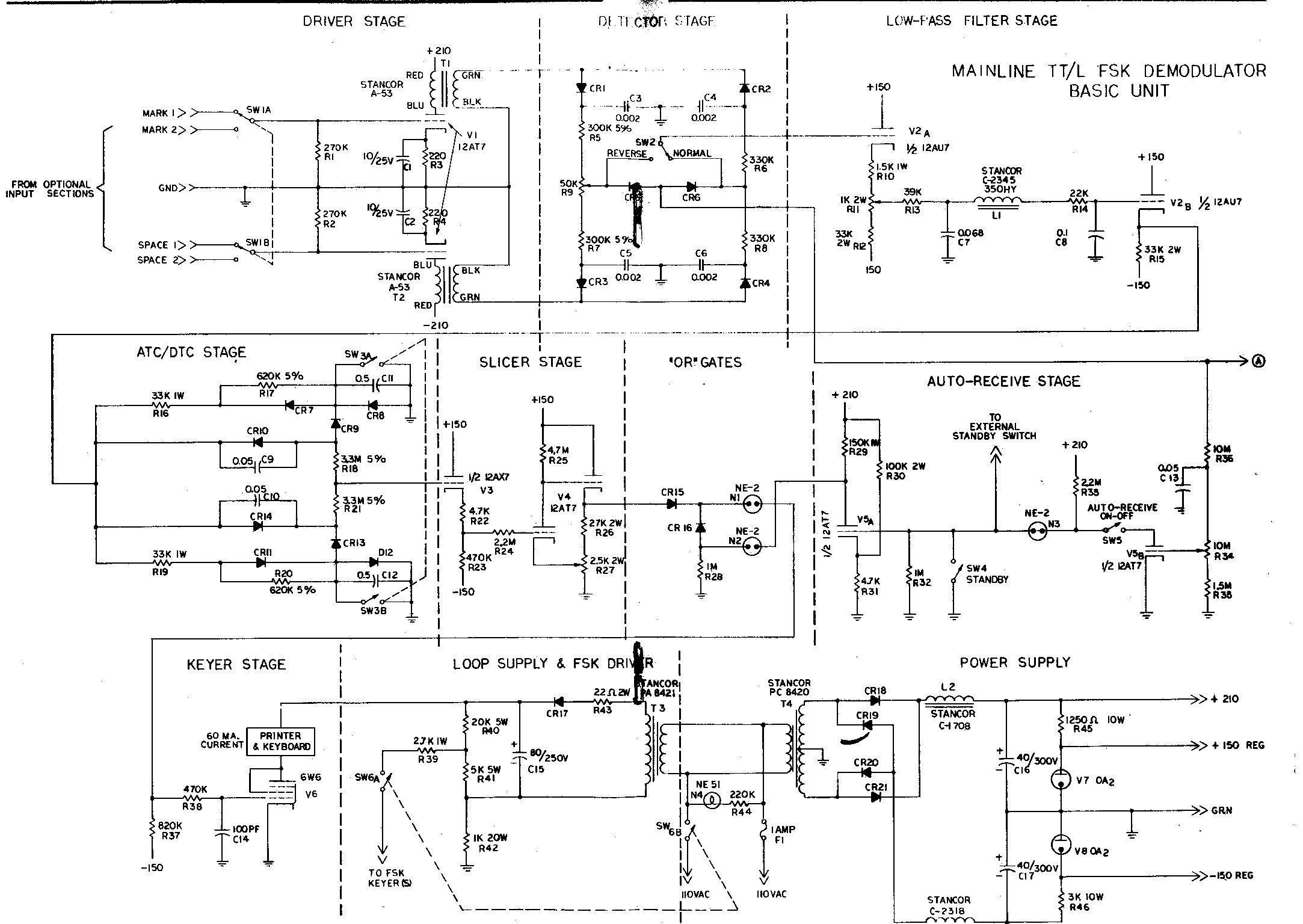 Demodulator Circuit Page 2 Other Circuits Switching 16 Nextgr The Mainline Tt L Fsk