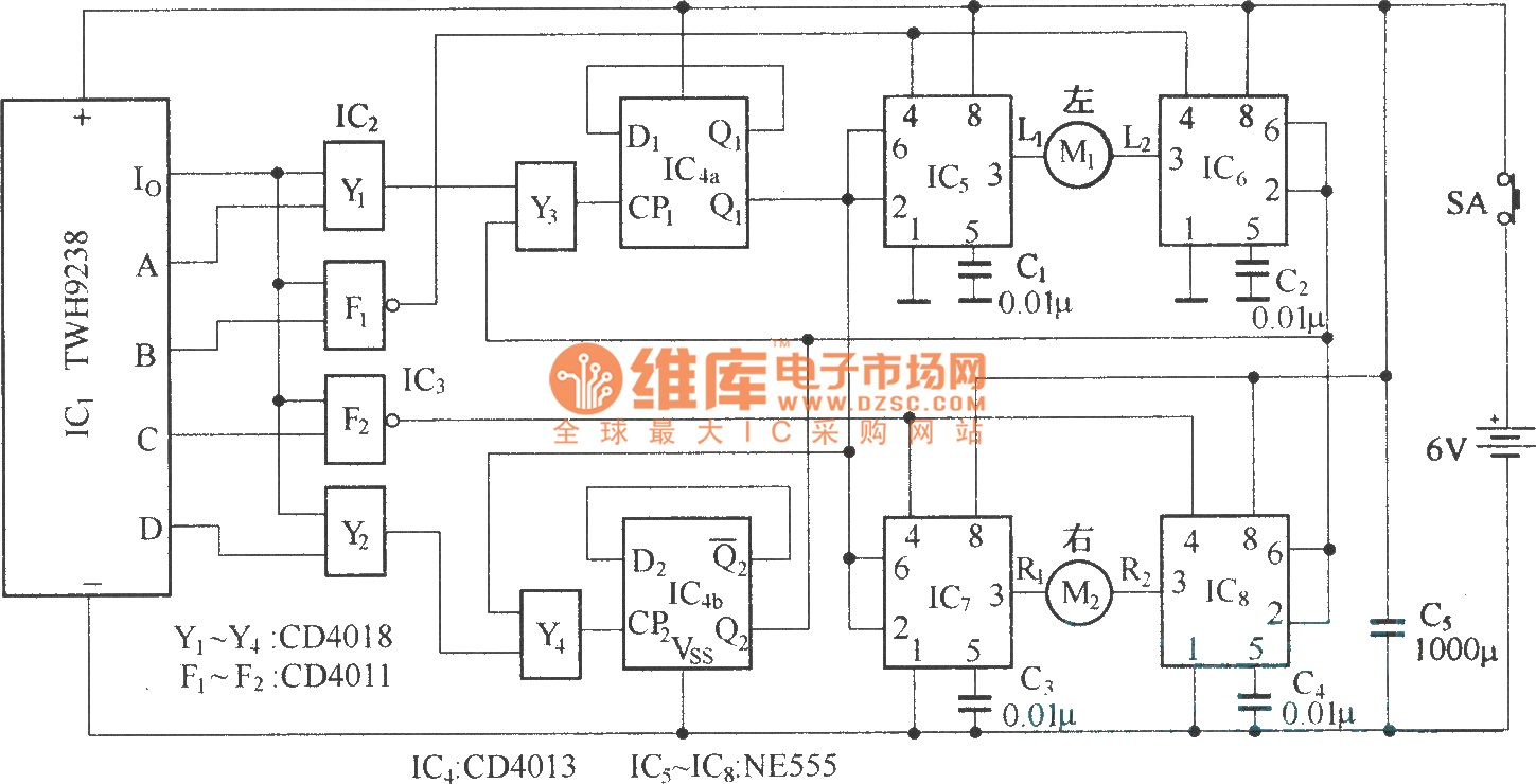 wireless remote electric car circuit diagram car audio crossover wiring diagrams