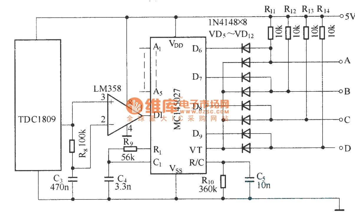 Results Page 28 About Air Generator Searching Circuits At Variableresistorcontrolled Regenerative Receiver Circuit Diagram Composed Of Tdc1808 Tdc1809 Digital Coding Control