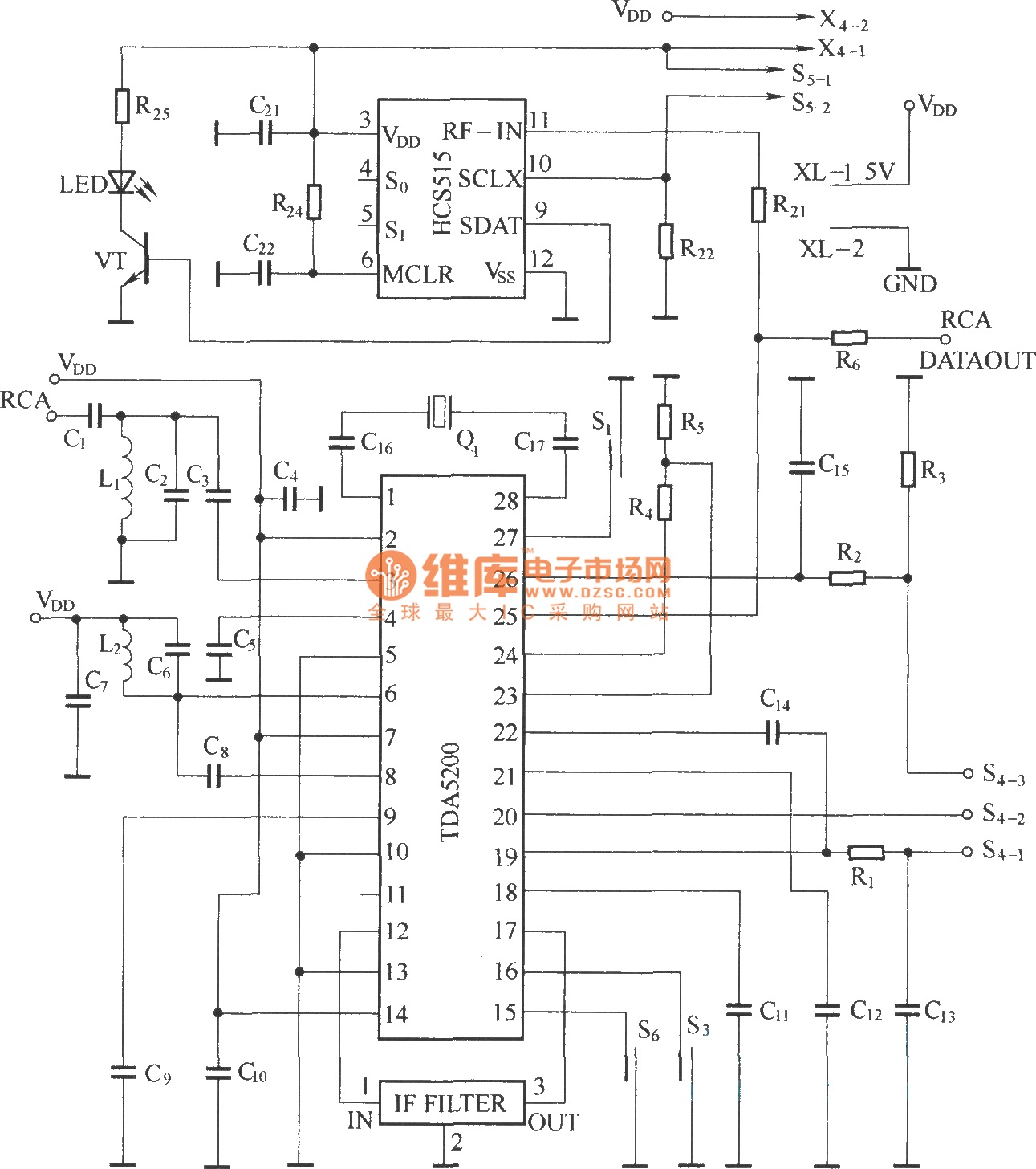 Results Page 4 About Tda 7088 Searching Circuits At 10w Amplifier Using Tda2003 Heterodyne Remote Control Receiving Circuit Diagram