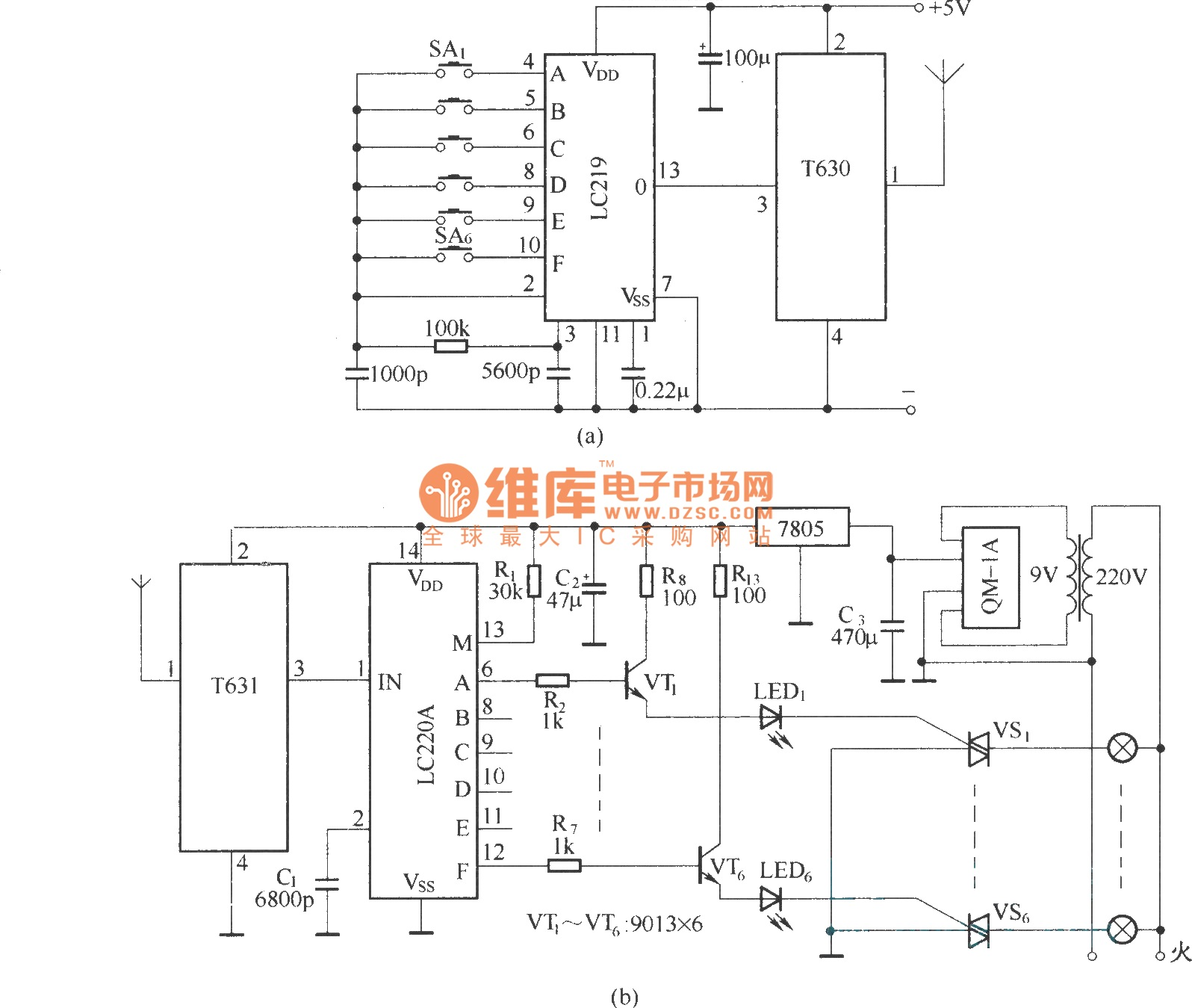 Top Circuits Page 232 5v 3a Switchingregulatorcircuit Powersupplycircuit Circuit Composed Of T630 T631 Long Wave Wireless Remote Control Diagram
