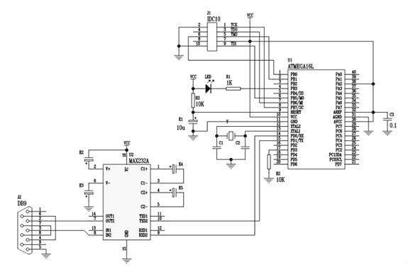 avr microcontroller circuit   microcontroller circuits