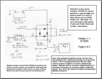 6v battery charger circuit diagram - schematic