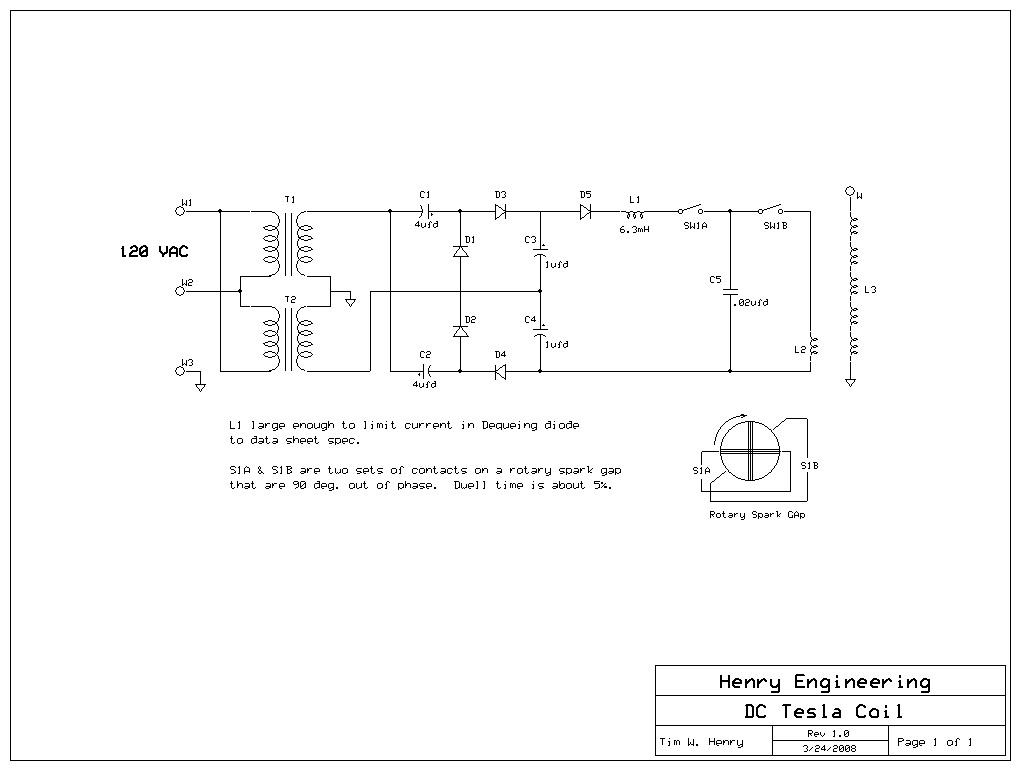tesla generator schematics tesla wiring diagram free