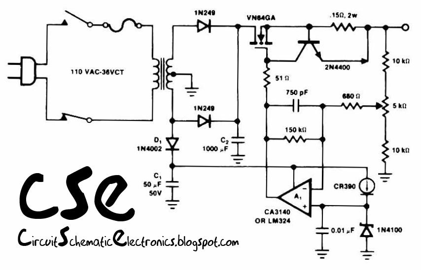 14 V battery charger circuit and troubleshooting Schematic Diagram - schematic