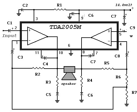 20 Watt Power Amplifier