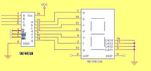 lcd led display circuit page 4 digital circuits next grseven segment display used in automatic