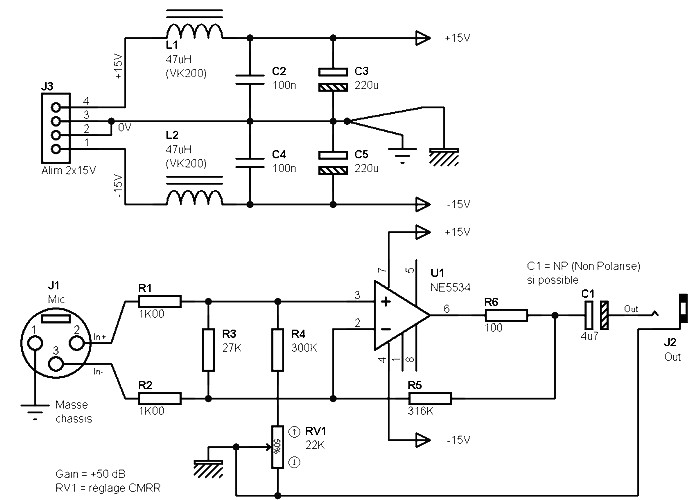 jfet audio amp diagram html