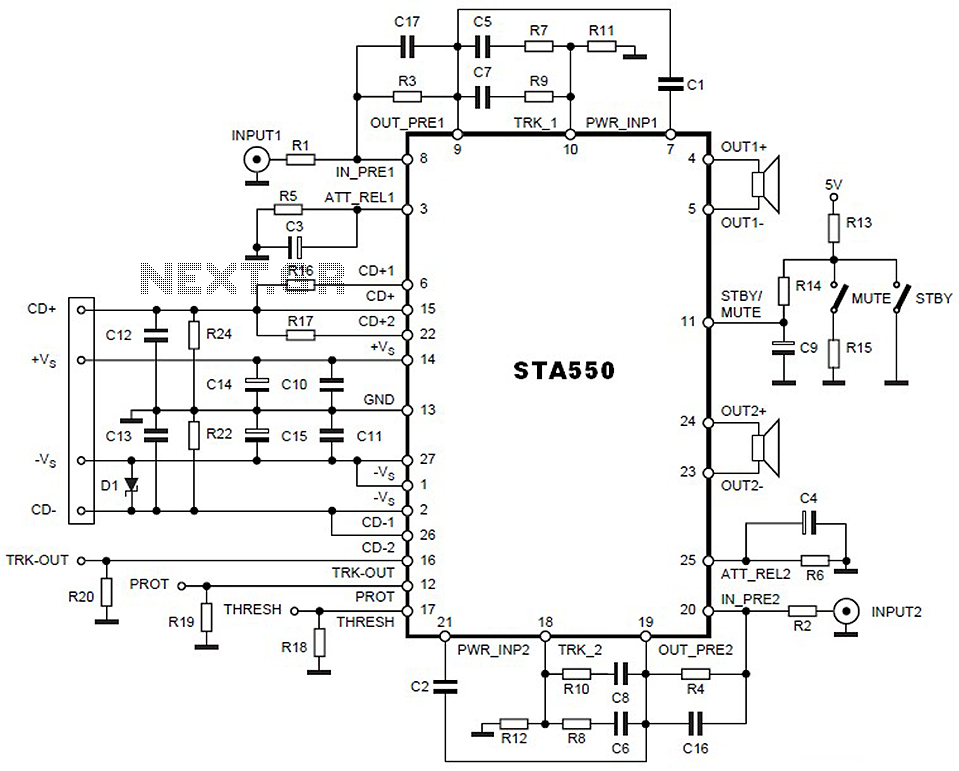 audio amplifier circuit page 23   audio circuits    next gr