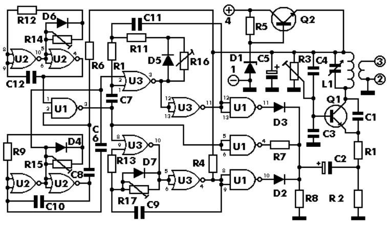 Pattern generator - schematic
