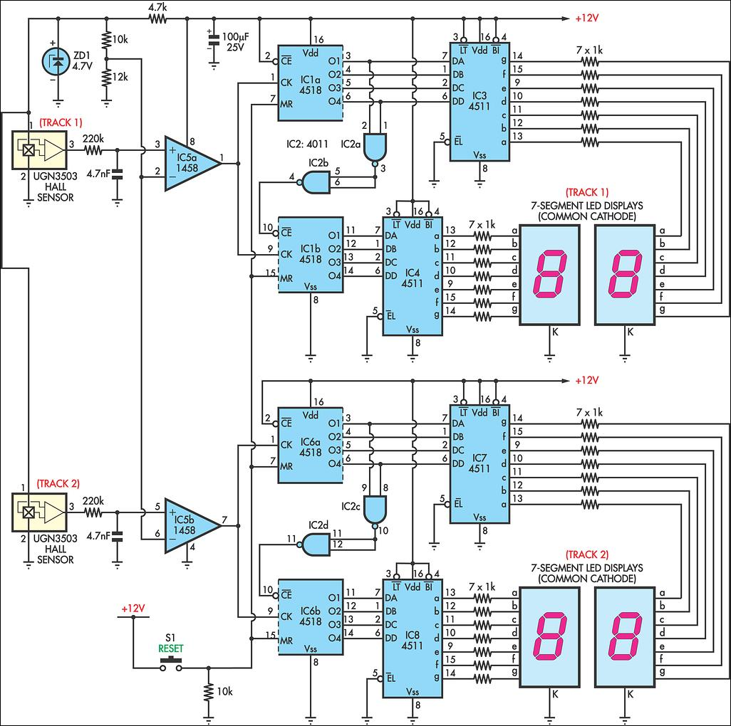 Digital Up Down Counter Circuit Diagram Question About Wiring Logic 74193 Page 5 Meter Circuits Next Gr 74192 Bcd