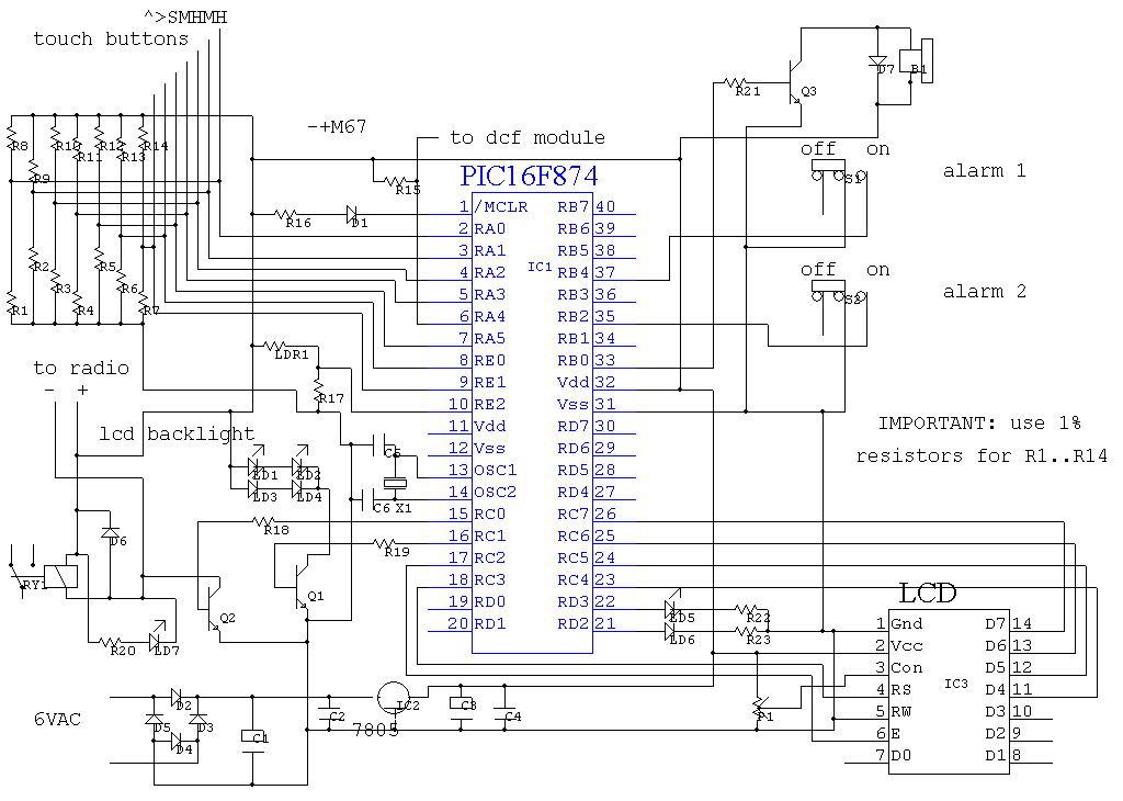 > circuits > Radio alarm clock l20361 - Next.gr
