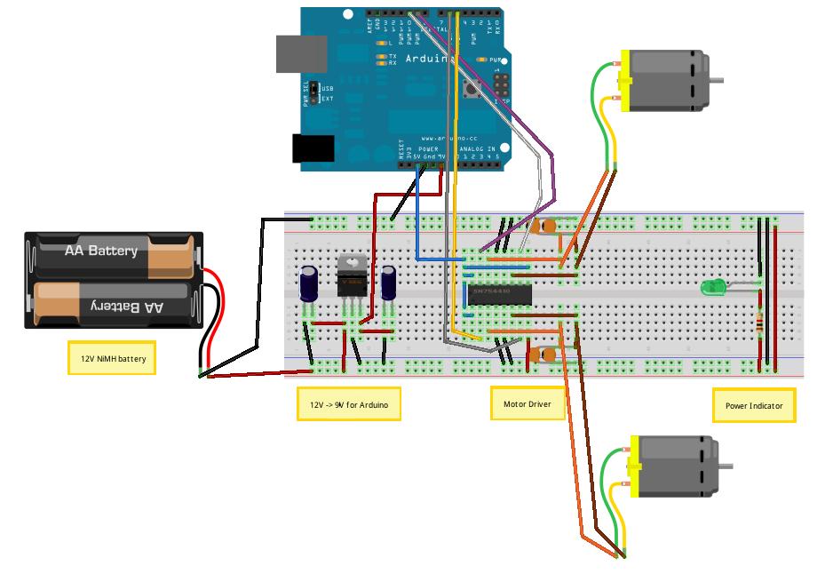 Voltage Regulators - schematic