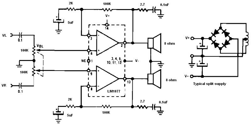 circuits u003e non inverting audio amplifier l20793 next gr rh next gr
