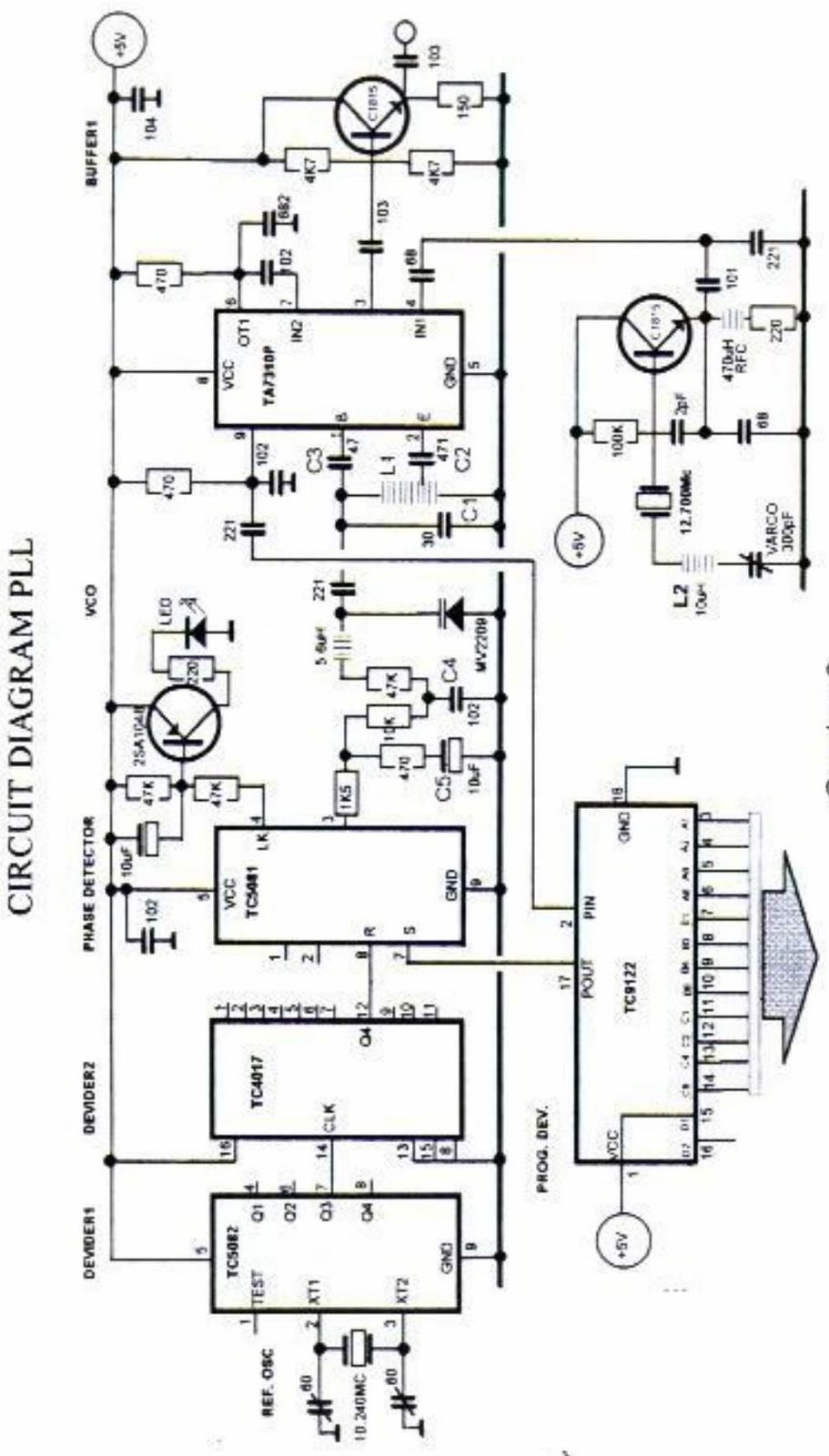 Electronic Circuits Page 178 Twoband Ptb Tone Control Useful Easy Cheap Awesome Phase Lock Loop Frequency Synthesizer