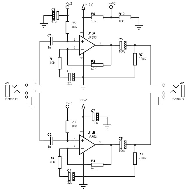 audio preamplifiers circuits page 8   audio circuits